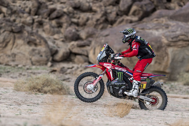 HRC Rally Dakar 2021 - Triumphant Double Victory for Honda