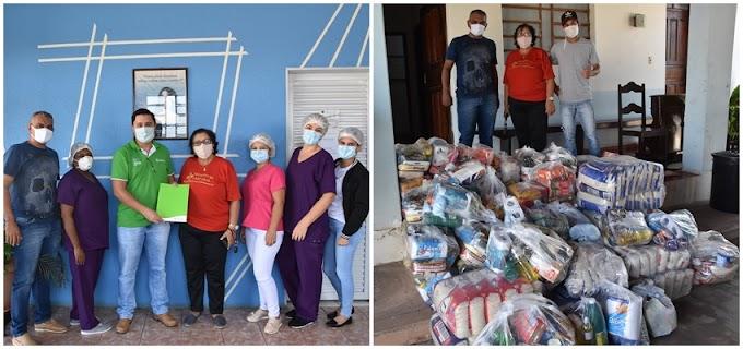LIVE DO BEM: Hospital Amparo recebeu 1 tonelada de alimentos e 15 mil reais