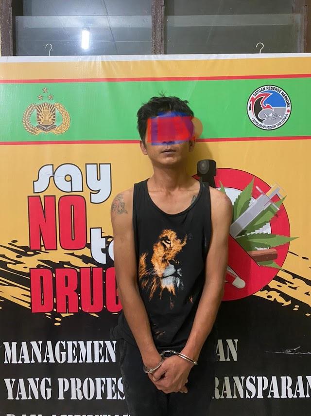 Jual Sabu, Bams  Dibekuk Sat Res Narkoba Polres Taput