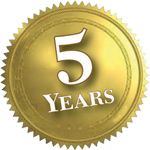 Fifth-anniversary seal