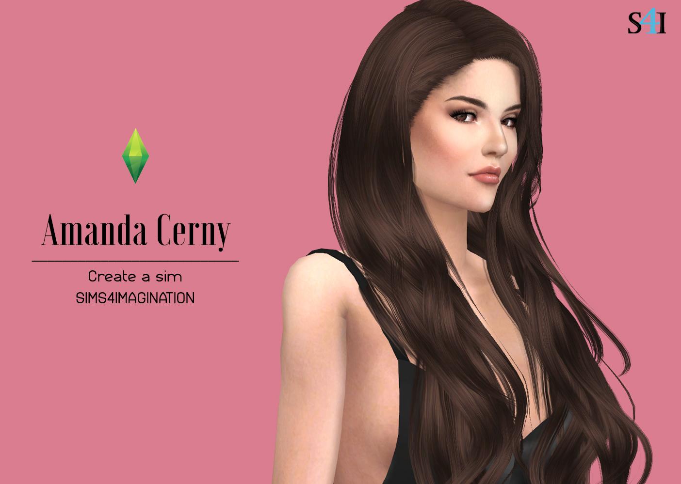 Amanda Cerny Video Porno my sims 4 cas: amanda cerny - imagination sims 4 cas