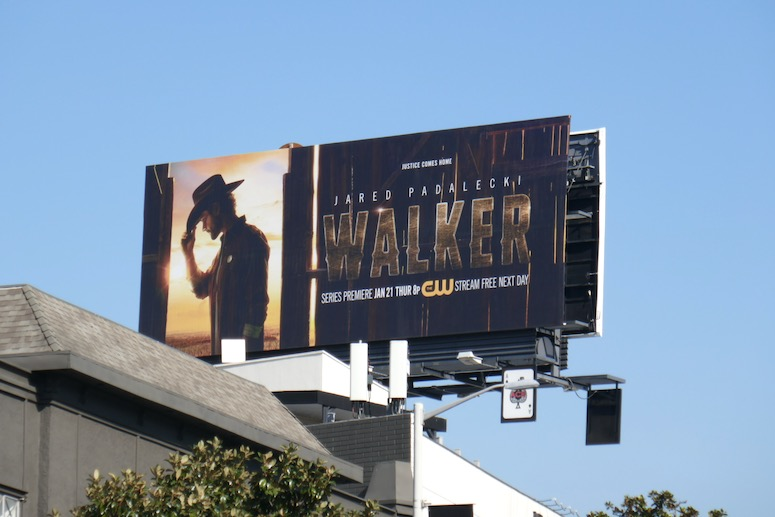 Walker season 1 billboard
