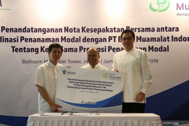 Bank Muamalat gandeng BKPM Incar Investor Asing