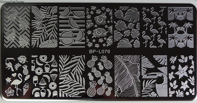 BornPrettyStore | Stamping Plate BP-L076