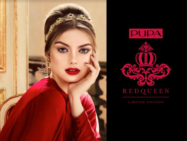 Już za chwileczkę, już za momencik w perfumeriach Douglas będzie miała premierę najnowsza kolekcja marki PUPA Cosmetics. W kolekcji dominują dwie barwy czerwień i złoto, to dość odważne połączenie kolorów, a zarazem eleganckie i wyrafinowane. Marka PUPA COSMETICS postawiła tym razem zainspirować się barokowym szykiem i stworzyła kolekcję w której znajdziemy kosmetyki o mocnej i wyrazistej kolorystyce. Myślę, że znajdą tu coś dla siebie kobiety pewne siebie i odważne, które lubią podkreślać walory urody z pomocą odważnych barw. Nie czuję się zbyt dobrze z czerwienią na ustach, ale balsamem do ust i rozświetlającym pudrem do twarzy i ciała chętnie się zaopiekuję :-)