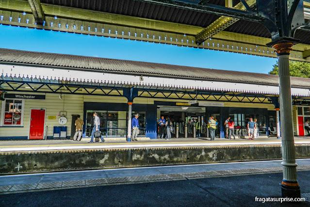 Estação ferroviária de Winchester, Inglaterra