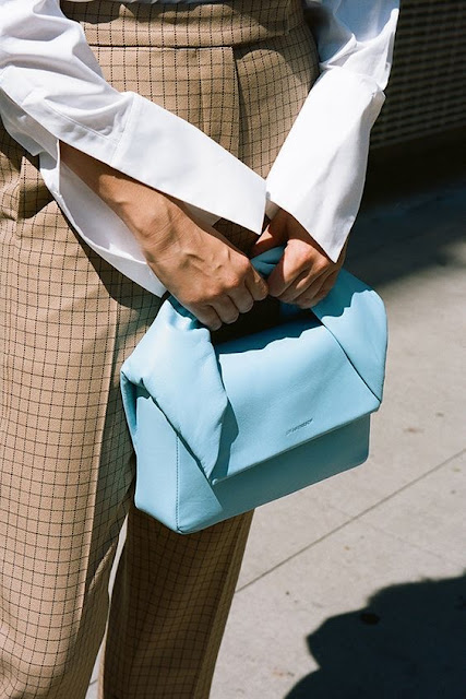 Baby Blue: J.W. Anderson Twist Bag