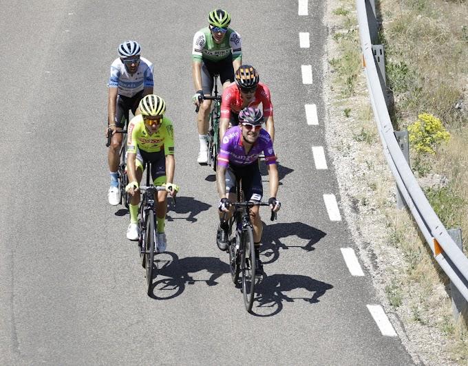 El Burgos BH lo intentó en todas las etapas de la Vuelta a Burgos