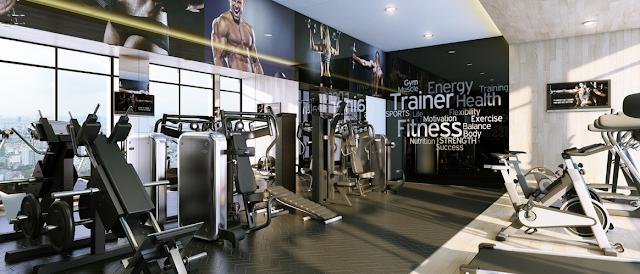 phòng tập gym tại chung cư marriot Đà Nẵng