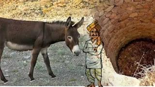 Washerman's Donkey Short Moral Story In Hindi]