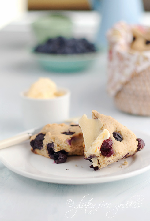 Gluten-Free Blueberry Scones | Gluten-Free Goddess® Recipes