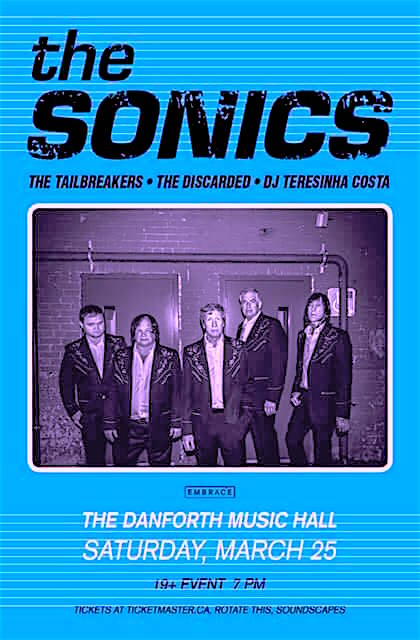 The Sonics @ Danforth Music Hall, Saturday