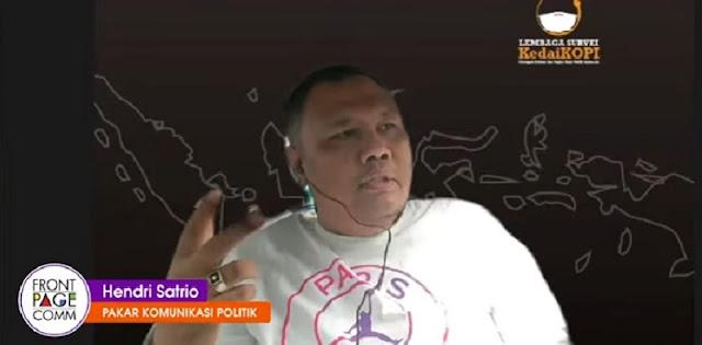 Hendri Satrio: Capres Dari Istana Adalah Orang Dekat Jokowi Sejak Periode Pertama