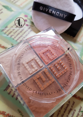 Givenchy Prisme Libre Mat-finish & Enhanced Radiance Loose Powder '3 Organza Caramel' - www.modenmakeup.com