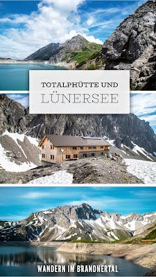 Totalphütte und Lünersee-Rundweg | Wandern im Brandnertal | Wanderung Vorarlberg. Über den Bösen Tritt zur Douglashütte und weiter zur Totalphütte. Anschließend Lünersee-Rundweg