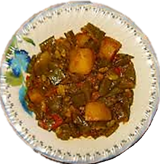 Spicy Sem Lablab Aloo Potato Vegetable sabzi Recipe.