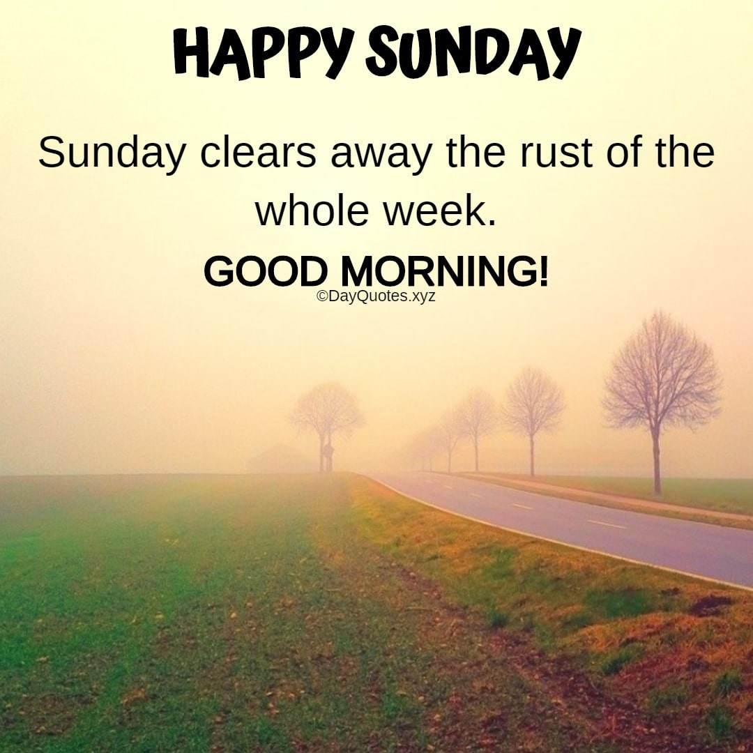 Happy Sunday Good Morning Quotes Images To Share On Social Profiles
