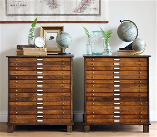 office storage cabinets with map drawers