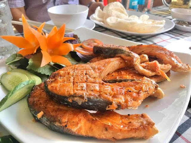 Món ăn tại Hải sản Lộc Huệ Sa Đéc 4