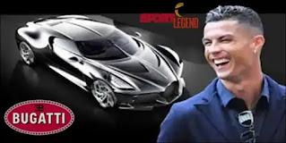 منافسة بين كريستيانو رونالدو ومايويذر من أجل سيارة بوغاتي
