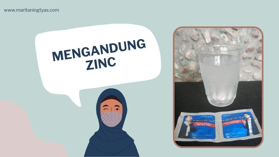 zinc dalam vipro-g