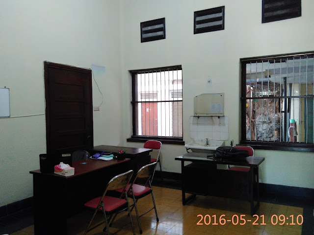 Ruang kerja Badan Eksekutif Lazismu Jember