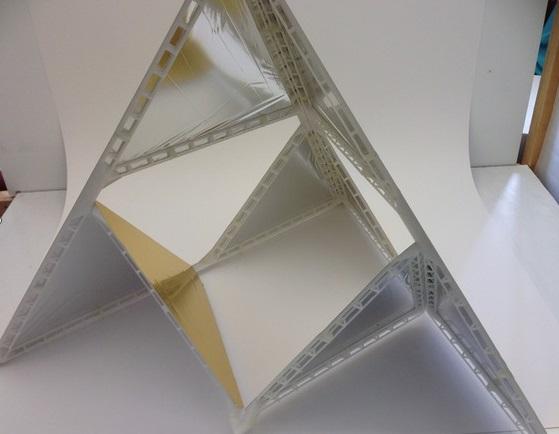 DIY 3D Printing: 3D Printable Tetrahedral Box Kites: Triforce and