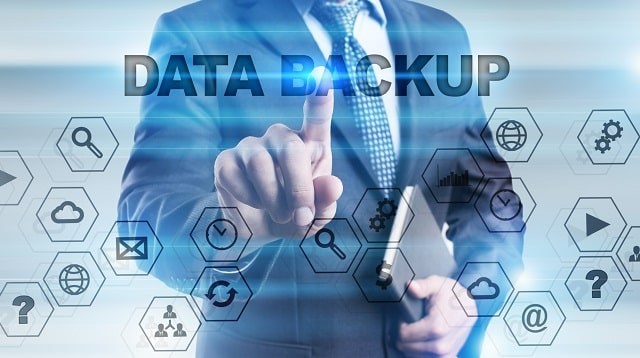 what is data backup cloud secure storage
