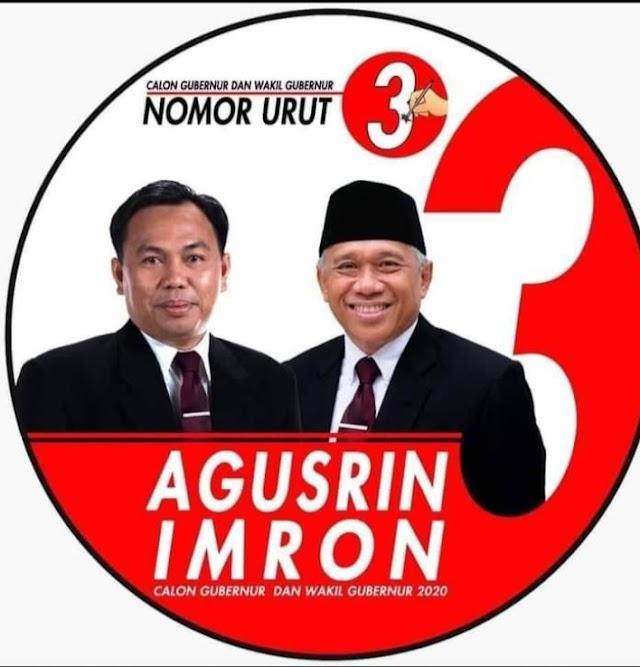 Agusrin-Imron Kantongi Nomor Urut 3