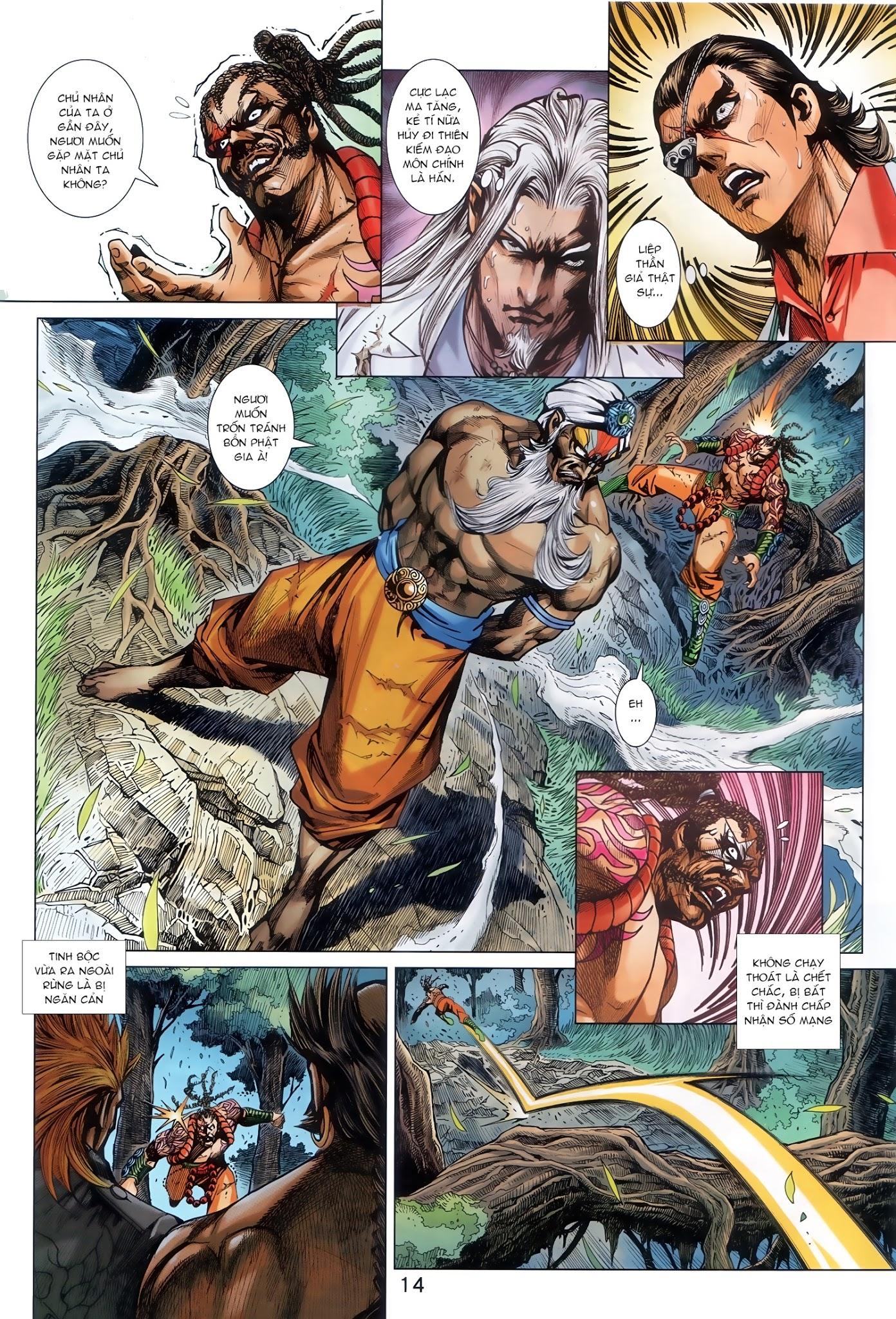 Tân Tác Long Hổ Môn Chap 888 - Trang 14
