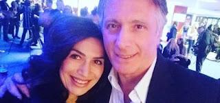 Giorgio Manetti e Barbara De Santi insieme a Sanremo