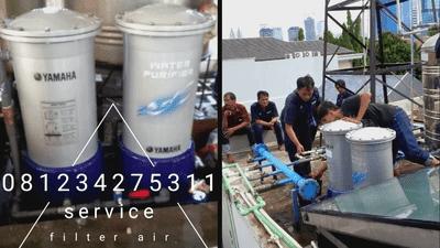 perawatan filter air