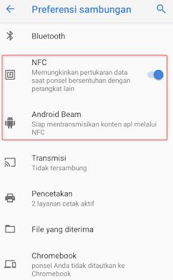 NFC merupakan abreviasi dari Near Field Communication yang bila diartikan yaitu komunikas Cara Menggunakan Fitur NFC Pada Android