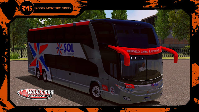 MARCOPOLO G7 1800 DD 6X2 SOL DEL PARAGUAY