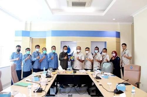 Perumda Air Minum Kota Padang Terima Kunjungan Perumda Tirta Muaro Tebo Jambi