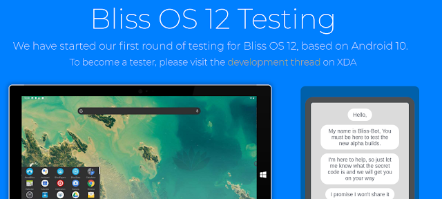 Android 10 ISO download - Download Bliss OS 12 Android 10 ISO for PC