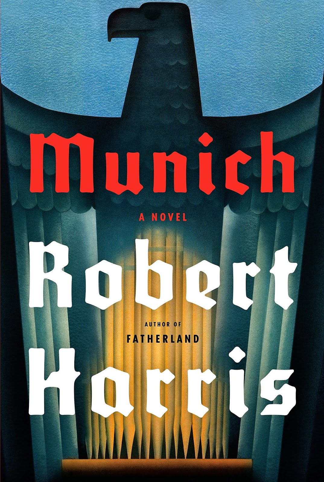Book cover for Robert Harris's Munich in the South Manchester, Chorlton, and Didsbury book group