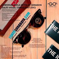 Info Lowongan Kerja di Optik GO Surabaya Terbaru Juli 2020