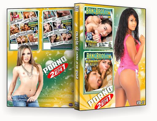 CAPA DVD – COLEÇÃO PORNO DVD-R VOL 17 – ISO