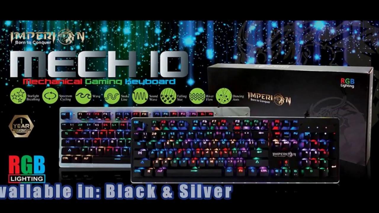 Imperion Gaming Keyboard Mechanical Tkl Mech 7 Black Daftar Harga Mech7 87keys