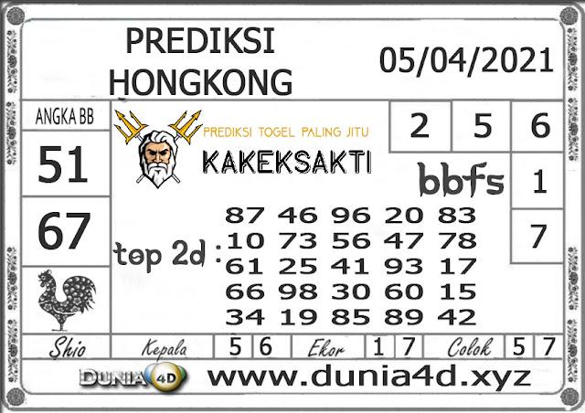 Prediksi Togel HONGKONG DUNIA4D 05 APRIL 2021