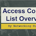 Access Control List Overview: