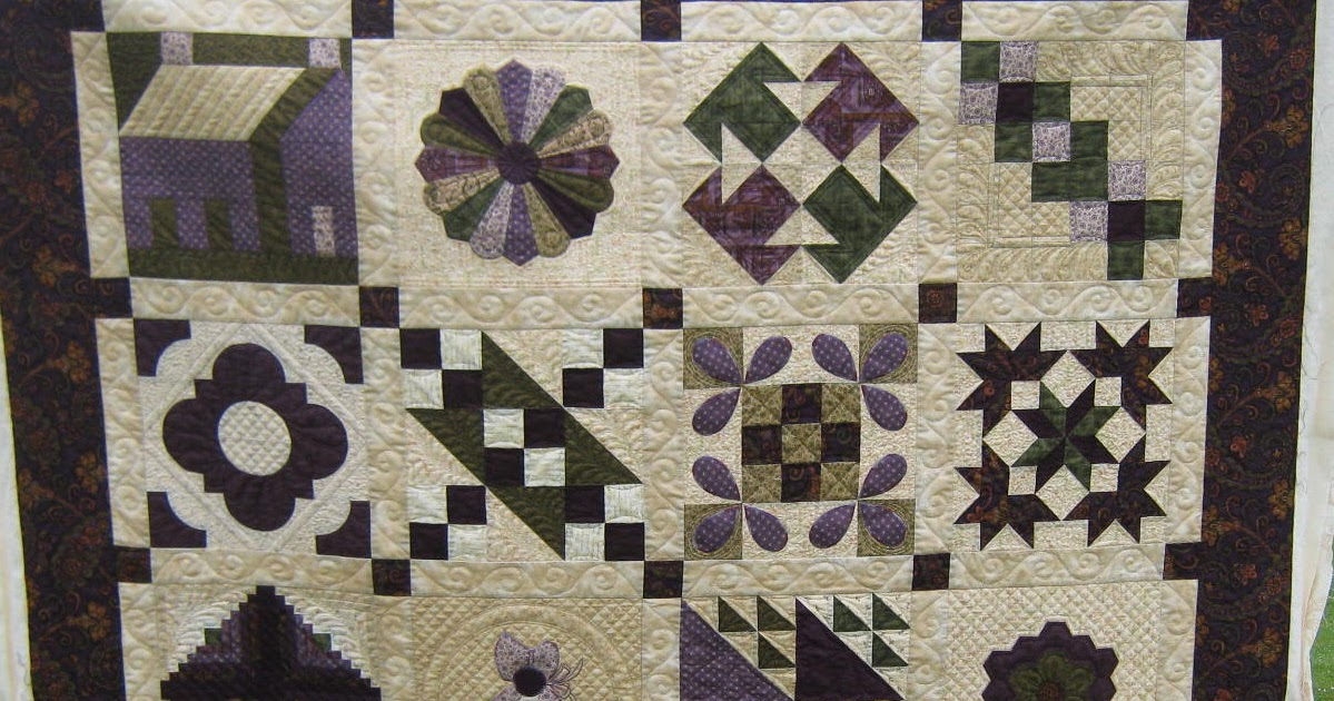 Quiltmekiwi Not So Traditional Sampler