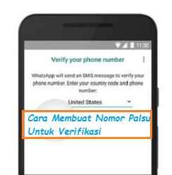 Cara Membuat Nomor Palsu Indonesia Gratis Untuk Verifikasi