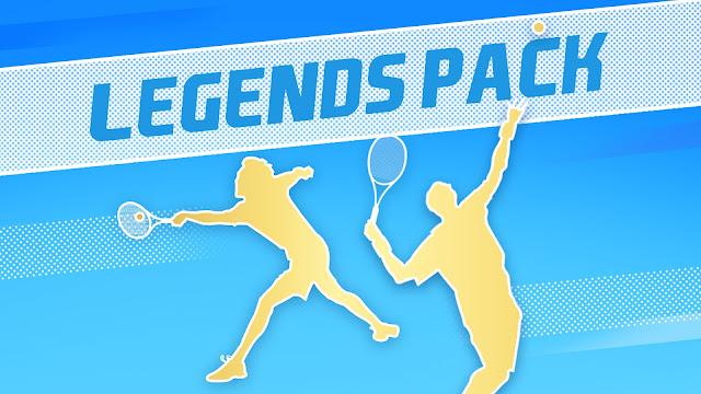Steam 商店限時免費領取《Tennis World Tour 2》Legends Pack DLC