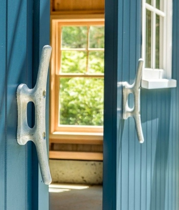 Boat Cleat Barn Door Handles