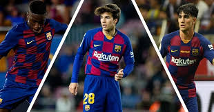 Nine Barcelona B starlets to join the first team for Champions League