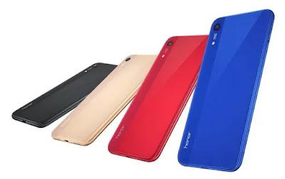 Honor Play 8a Phone Alag Alag Colour Design