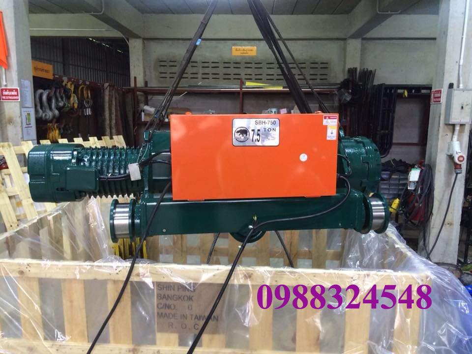 Pa lăng điện cáp Black Bear SBH-750 7.5 tấn