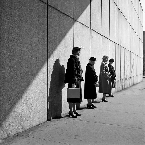 Vivian Maier - New York 31 octobre 1954